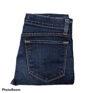 "J Brand Mid Rise Cigarette Leg Jeans 33"" Inseam"